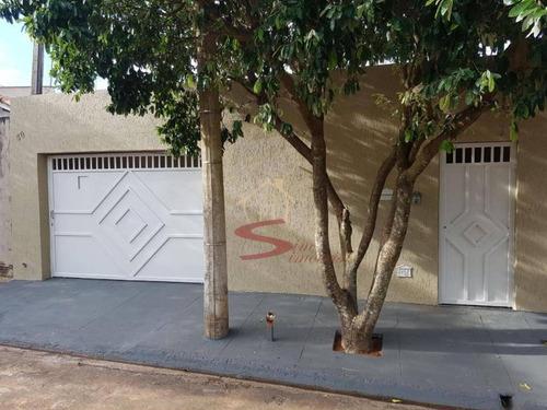 Casa De 3 Quartos Para Venda - Residencial Prefeito Mário Crêm Dos Santos - Birigui - Izm19653-104019