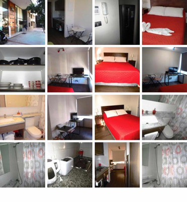 Departamentos Amoblados 1 Dormitorio Santiago Centro