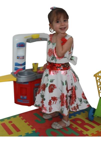 Vestido De Niña Para Fiestas Formales Primavera Verano