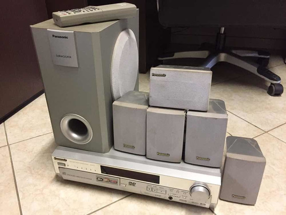 Dvd Home Theater Panasonic Sa-ht75 Carrosel 5 Discos