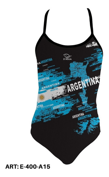 Malla Natación Argentina Dagua Resiste El Cloro