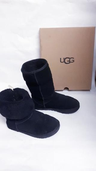 Botas Ugg Negras Tall Talle 37 Unisex Originales