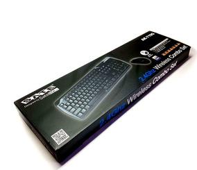 Teclado Satellite Ak-719g Wireless Com Mouse