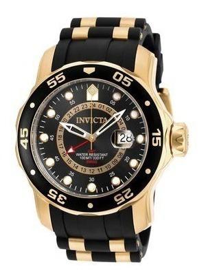 Relógio Invicta Pro Diver 6991 - Banhado Ouro 18k Original