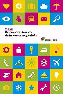 Libro : Nuevo Diccionario Basico De La Lengua Espanola (d...