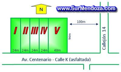Lindo Y Amplio Terreno 100% Financiado En Sur Mendoza