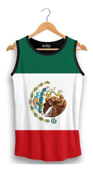 Regata Dep Bandeira México Verde / Vermelha
