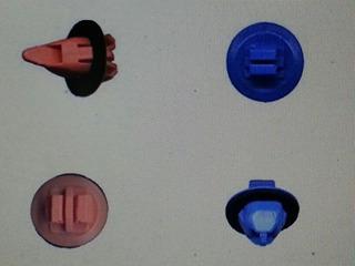 Gancho Clip Original Nylon Buche 4runner Fortuner Hilux