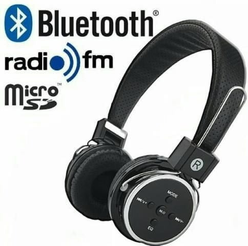 Fone Ouvido Headphone Bluetooth Card Wireless