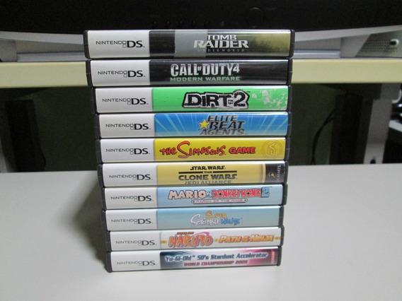 10 Jogos De Nintendo Ds\3ds Só Jogão