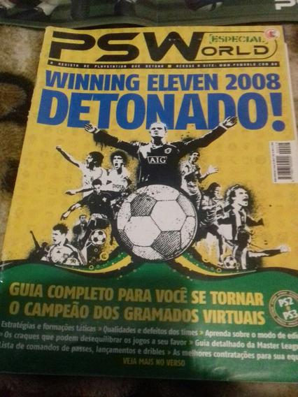 Revista Playstation World Especial+poster Cristiano Ronaldo