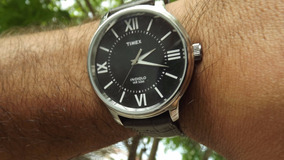 Relógio Timex De Couro Masculino