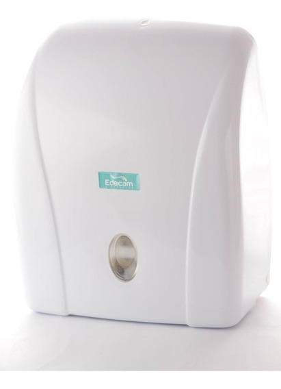 Toalheiro Porta Papel Toalha Dispenser Branco Plástico Abs