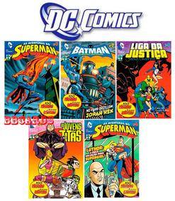 Hqs Dc Comics Abril Superman Batman 12 Volumes