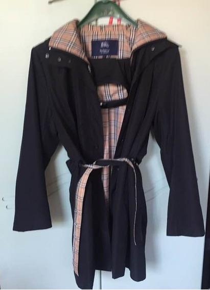 Trench Coat Casaco 7/8 Burberry Nova Check Tamanho G