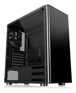 Chasis Thermaltake V200 Black Fuente 600w Ca-3k8-60m1wu-00