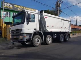 Mb Actros 4844 71.000 Km Bitruck 8x4 Caçamba Basculante 22m