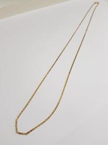 Corrente Em Ouro 18k Piastrine 1,6gr - 53