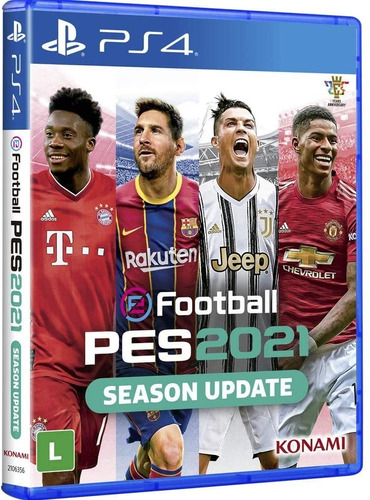 Pes 2021 Efootball Pro Evolution Soccer Ps4 Midia Fisica+nf