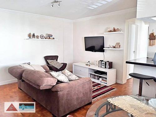 Imagem 1 de 14 de Apartamento Com 2 Dormitórios À Venda, 85 M² Por R$ 430.000,00 - Jardim Anália Franco - São Paulo/sp - Ap6203