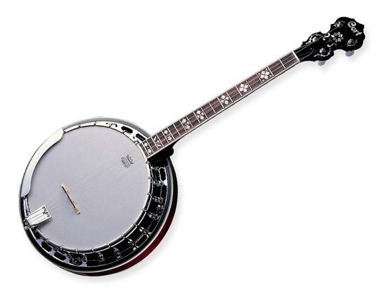 Banjo 4 Cuerdas Cort Cb54 C/ Funda Blue Grass Series Sale%