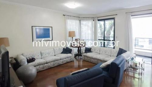 Imagem 1 de 15 de Apartamento Amplo De 190m², 4 Quartos E 2 Vagas No Jd Paulista - Apa4334