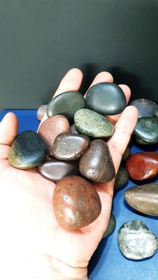Lote 01kg Rochas Pedras Seixos Coloridos Importados Cor P10