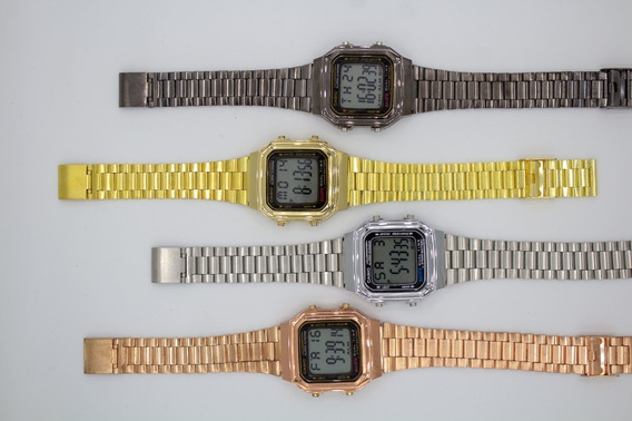 Relógio Cássio Vintage Unissex Pulso Retro