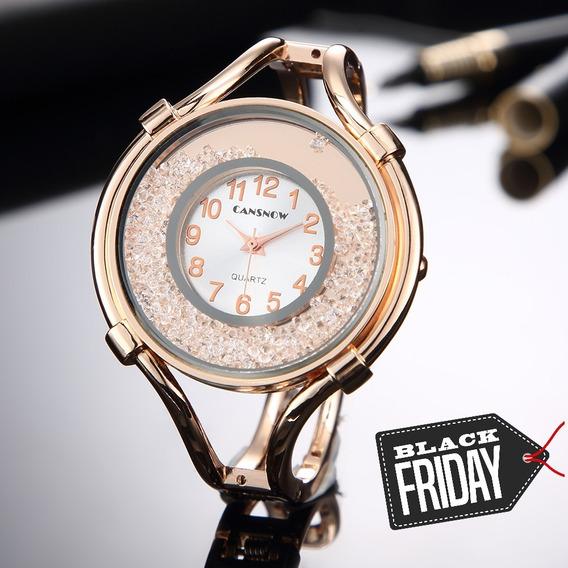 Presente Feminino Bracelete Relógio Mulher Esposa Namorada