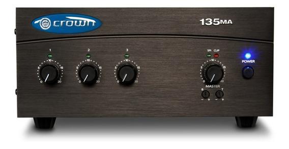 Mixer Amplificador Crown G135ma 35watts Rms