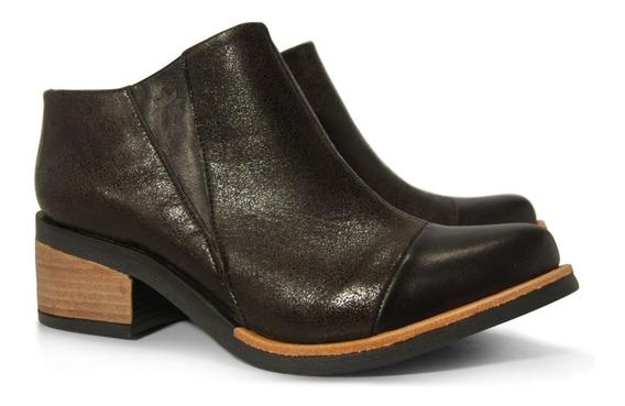 Zapatos De Cuero Mujer Justicialistas Mod. Eguren