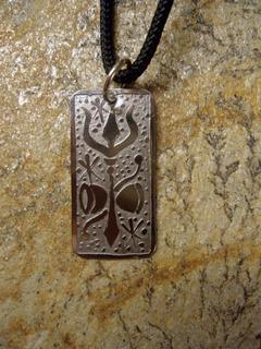 Shiva, Xiva, Pingente Tridente E Tambor Símbolos De Shiva