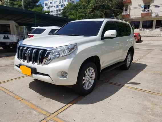 2015 Toyota Prado Tx Motor 3.0 Blanco 5 Puertas