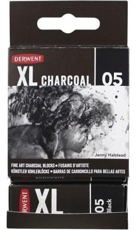 Imagem 1 de 6 de Carvão Vegetal Em Bloco Derwent Xl Charcoal Black