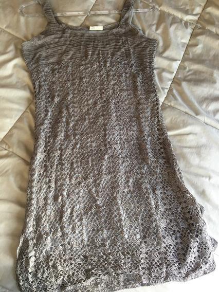 Vestido Mujer Importado Color Plata