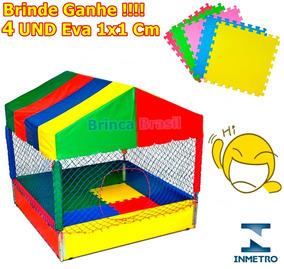 Piscina De Bolinhas 2x2 Brinquedo Toquinha Infantil C/brinde