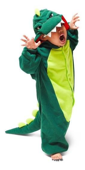 Pijama Enteros Animales Dinosaurio Niños Niñas 3 A 12 Años