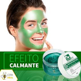 Máscara Para Tratamento Facial Ágata Verde 200g Dermare