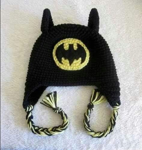 Touca Gorro Aviador Batman