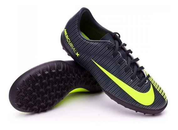 Tenis Nike Mercurialx Vapor Xi Cr7 Turf Niño