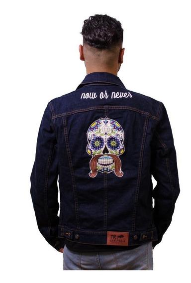 Chamarra Caballero Hombre Mezclilla Rocker Rins Trd Tmj00218