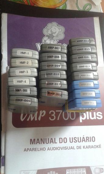 Cartucho Raf Videoke 3700,3700plus,7000e7500 (leia Descricao
