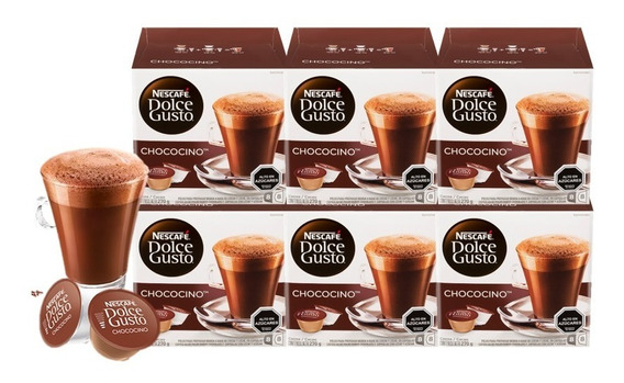 Dolce Gusto Capsulas Chococino Pack X6 Cajas