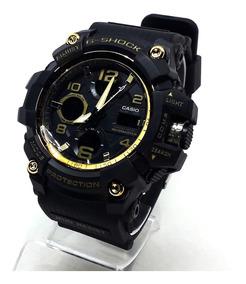 Relógio G-shock Preto E Dourado - A Prova D