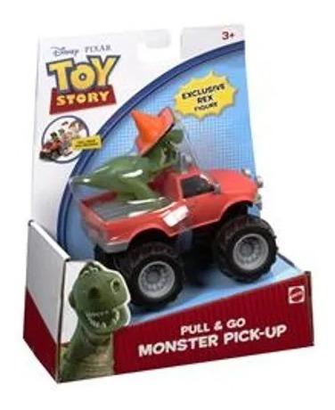 Brinquedo Infantil Carro Toy Story Pick-up Do Rex Fricção