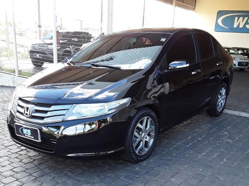 Honda City Ex 1.5 Preto 2011