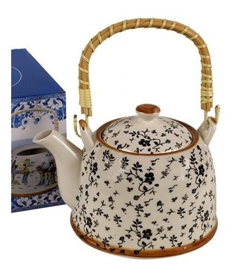 Tetera Infusor Porcelana Vintage Pettish Online