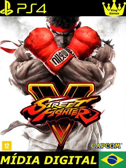 Street Fighter V | Ps4 1 | Português