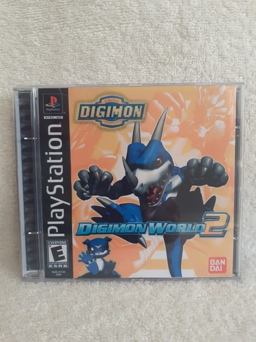 Digimon World 2 Para Playstation 1 - Patch