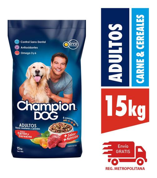 Alimento Perro Champion Razas Medianes Y Grandes C&c 15kg